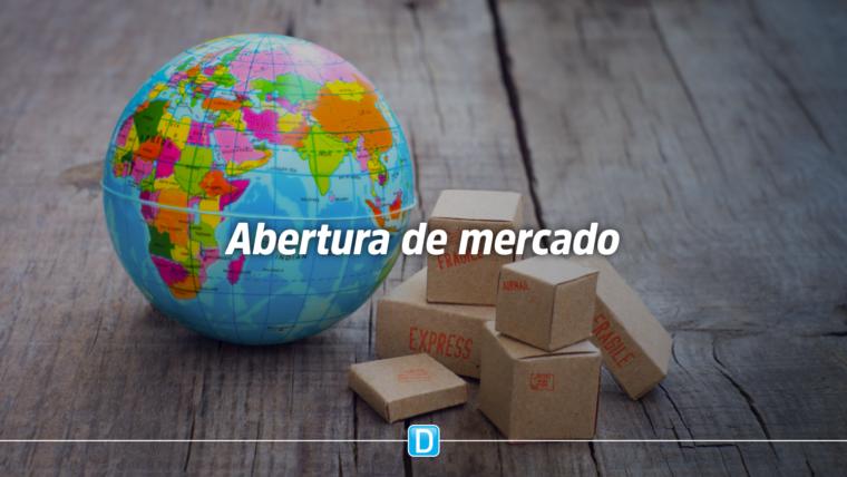 Brasil abre mercado e amplia pauta de exportações de produtos agropecuários para oito países em março