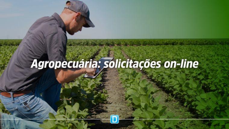 Setor agropecuário já pode realizar on-line as demandas relacionadas a abastecimento