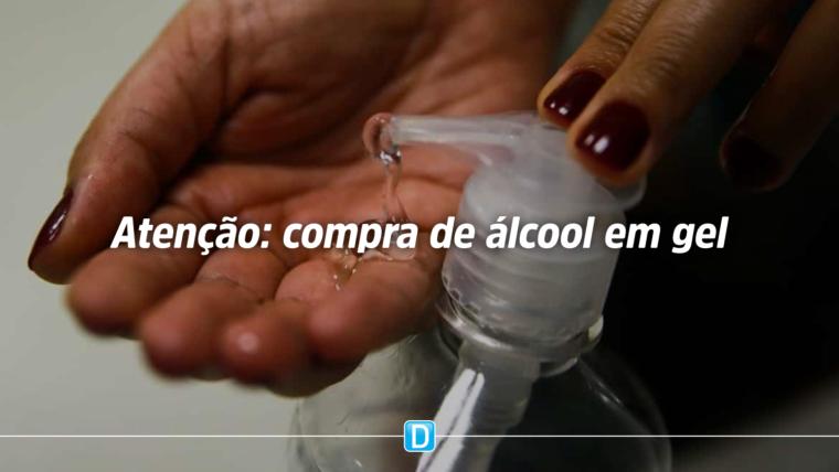 Conselho Nacional de Combate à Pirataria, Anvisa e Inmetro orientam consumidores sobre a compra de álcool gel
