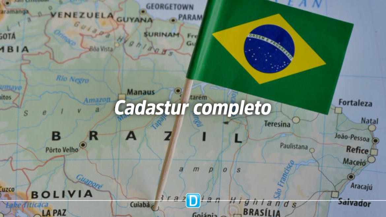 Cadastur conta agora com todos os estados brasileiros