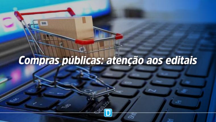 Compras públicas: empresas devem ficar atentas aos editais para vender materiais e insumos