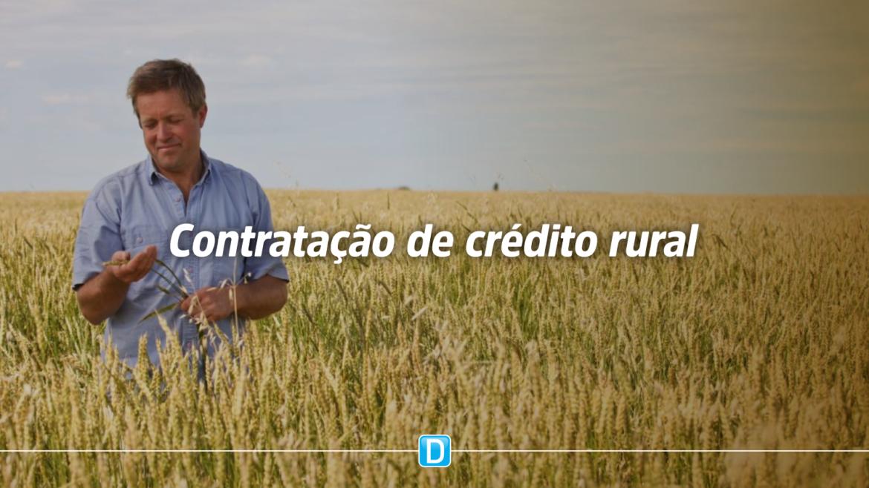 Produtores rurais contratam R$ 140,8 bilhões em crédito rural em oito meses