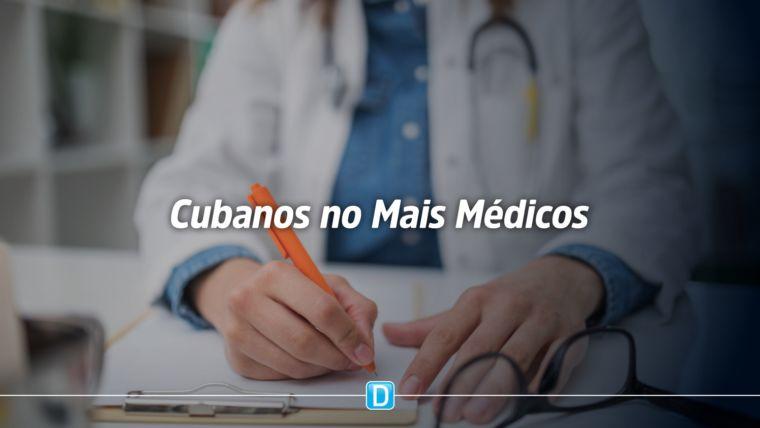 Cubanos no Brasil desligados do Mais Médicos podem reintegrar o programa