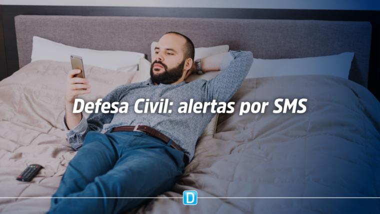 Estados e municípios utilizam sistema da Defesa Civil Nacional para alertas por SMS sobre coronavírus