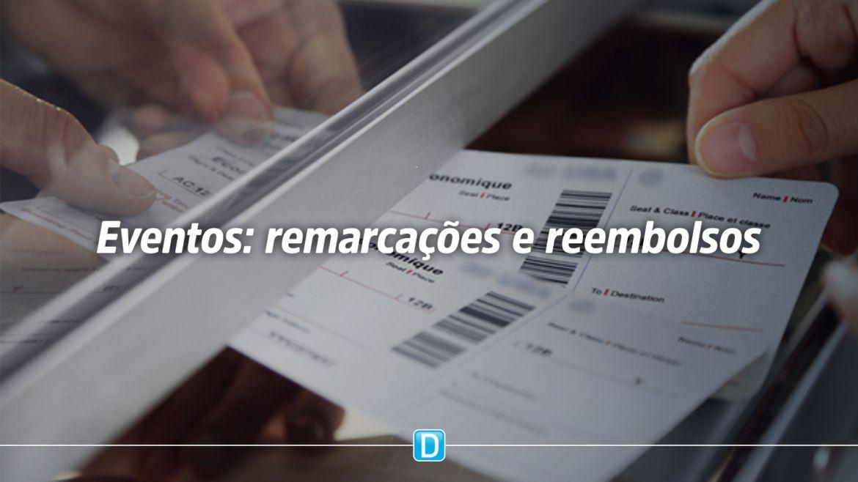 Senacon firma acordo para consumidores remarcarem ou solicitarem reembolso de eventos