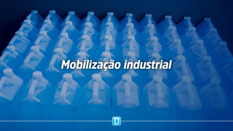 Indústrias e governo se mobilizam para fabricar produtos essenciais no combate à pandemia