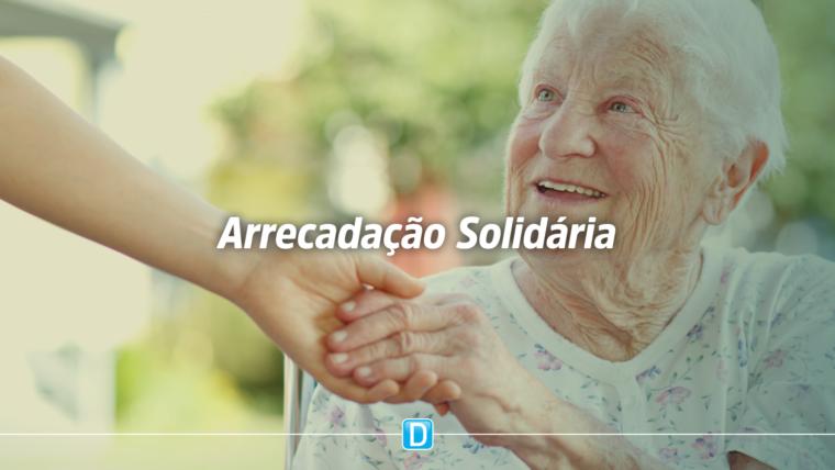 Idosos serão os primeiros beneficiados pelo projeto Arrecadação Solidária