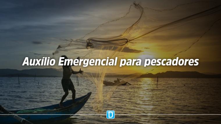 Pescadores artesanais podem receber auxílio emergencial durante pandemia