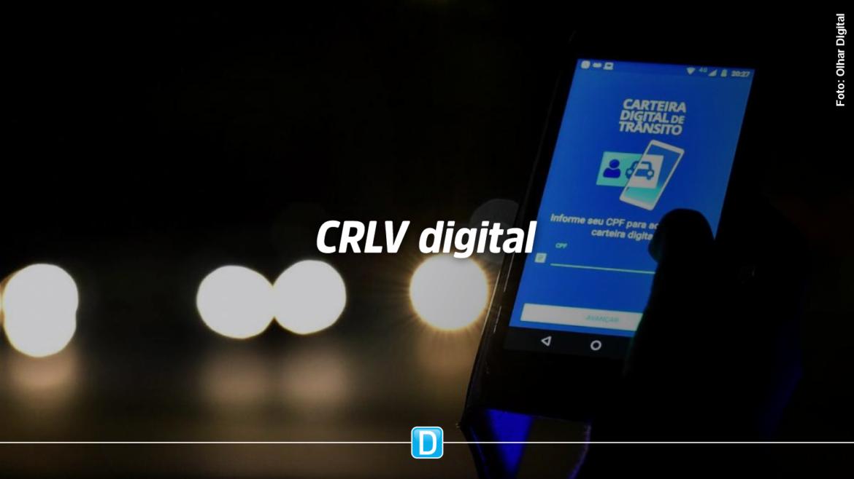 CRLV digital está disponível para impressão por donos de veículos em 13 estados e no DF