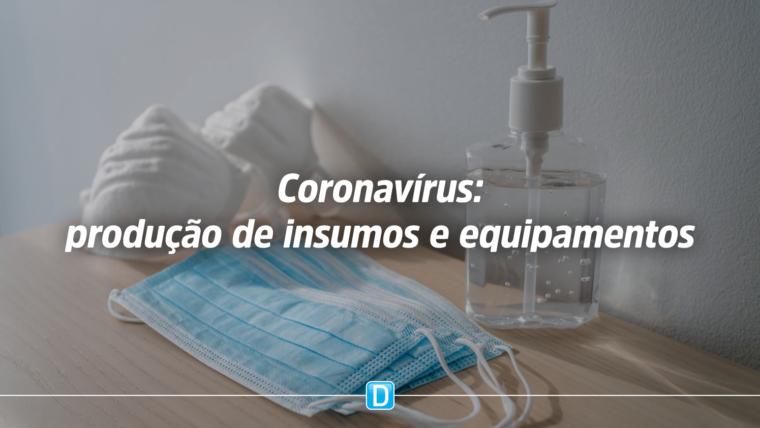 Sepec prioriza produção de insumos e equipamentos em combate ao novo coronavírus