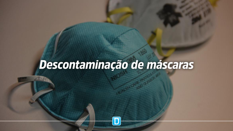 MCTIC testa solução para descontaminação de máscaras N95