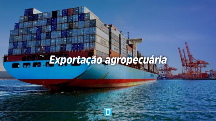 Exportações do setor agropecuário registram aumento de 17,5% no primeiro quadrimestre de 2020
