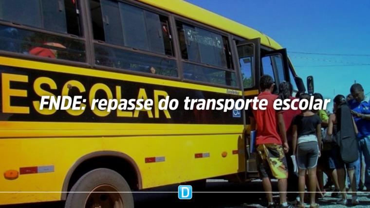FNDE antecipa repasse de R$ 67,9 milhões da quarta parcela do transporte escolar