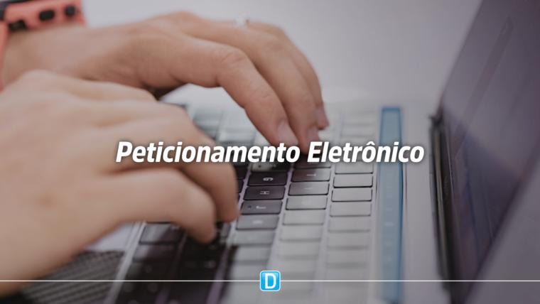 Ministério implementa sistema de peticionamento eletrônico de documentos