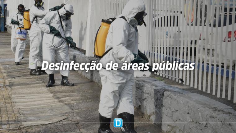 Forças Armadas capacitam funcionários para desinfectar áreas públicas
