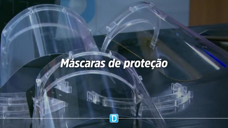 Instituto Federal do Espírito Santo estima produzir 10 mil máscaras de proteção