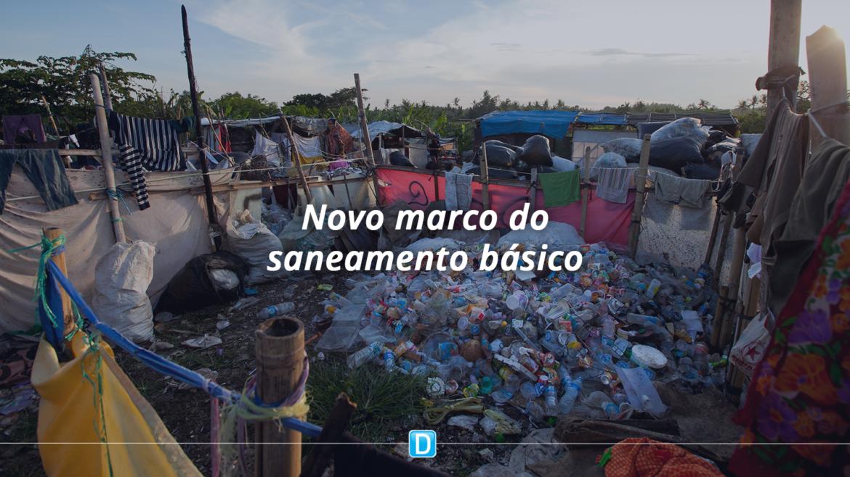 Senado aprova novo marco do saneamento básico e projeto vai à sanção