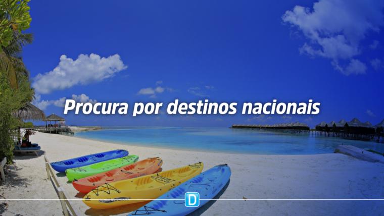 Pesquisa indica destinos nacionais entre os planos do viajante brasileiro