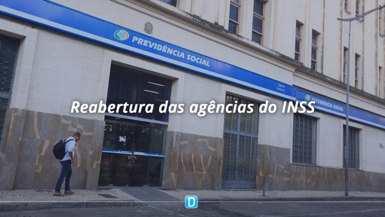 Agências do INSS serão reabertas a partir de 13 de julho