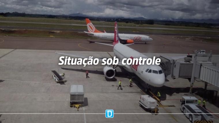 Situação das companhias aéreas está sob controle, afirma ministro da Infraestrutura
