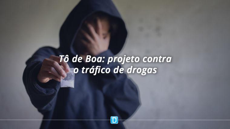 Ministério da Justiça e Segurança Pública lança projeto para evitar envolvimento de jovens carentes com o tráfico