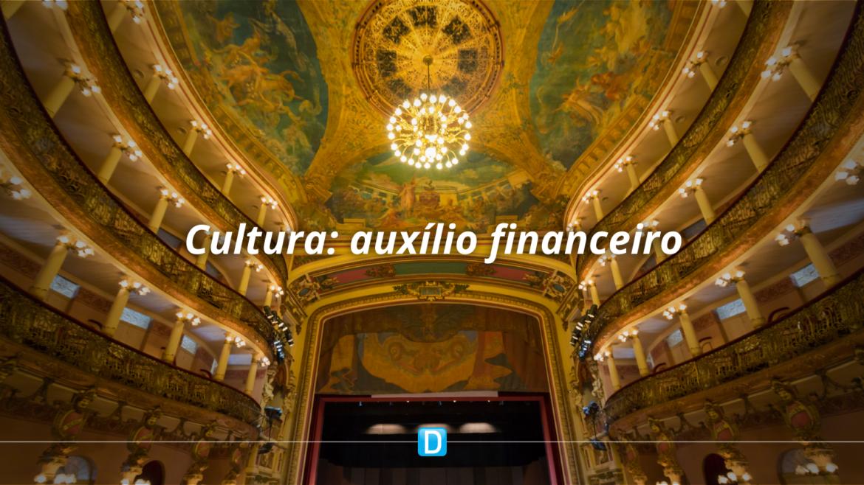 Sancionada lei que prevê auxílio financeiro ao setor cultural