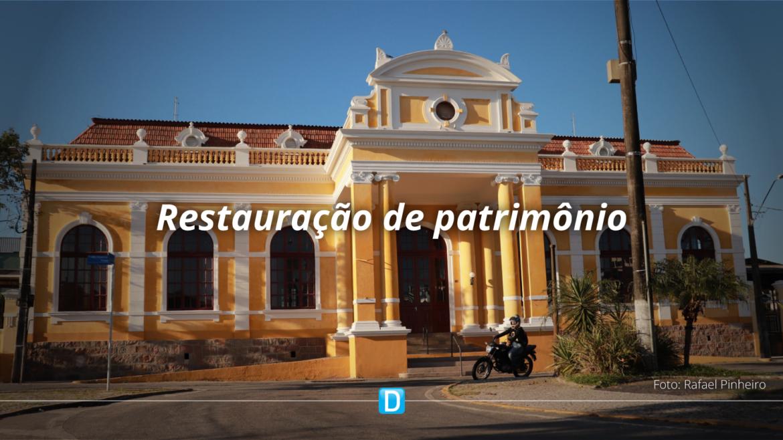 MTur investe R$ 1,7 milhão em restauração da Estação em Paranaguá