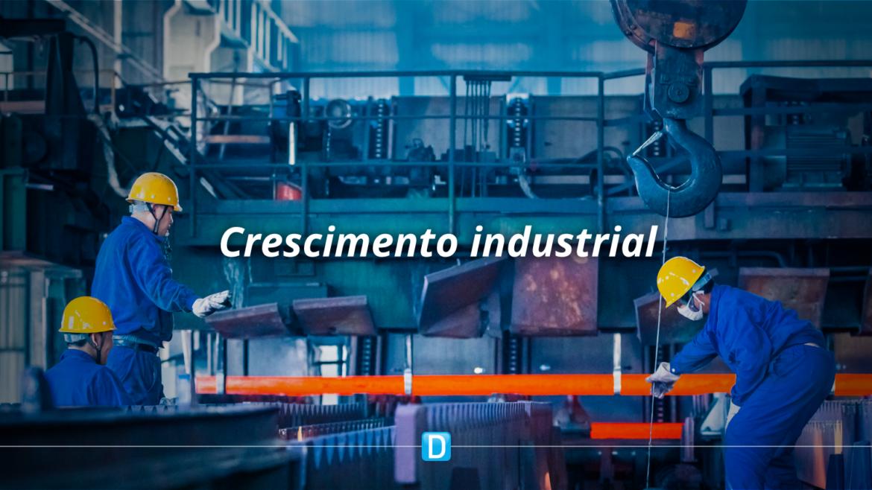 Produção industrial volta a crescer e avança 7,0% em maio