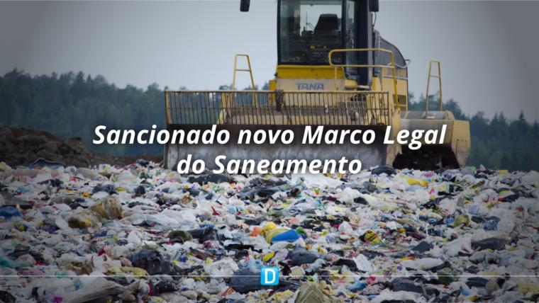 Novo Marco do Saneamento entra em vigor e trará avanços econômicos, na saúde e no meio ambiente em todo o país