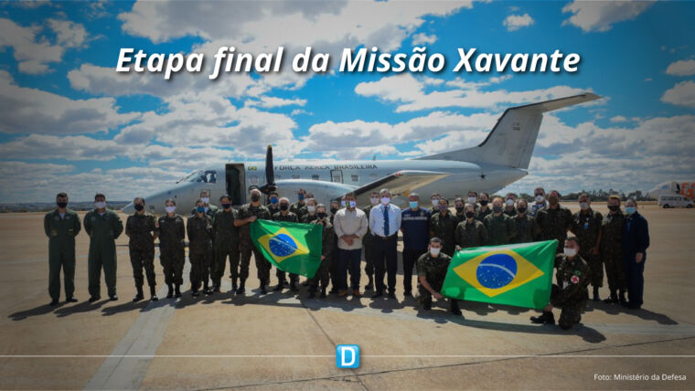 Ministério da Defesa inicia etapa final da Missão Xavante