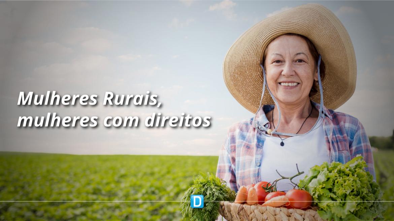 Ministra Tereza Cristina participa do lançamento da campanha Mulheres Rurais, mulheres com direitos