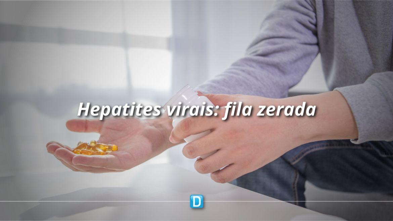 Brasil zera fila de tratamento de hepatites virais e garante estoque até 2021
