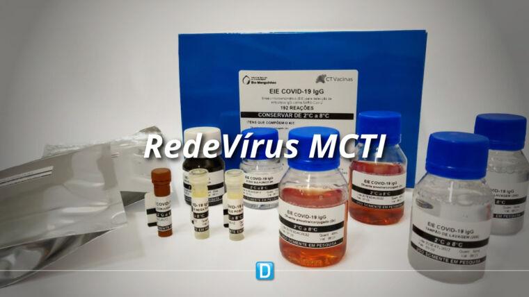 RedeVírus MCTI: Kit de diagnóstico mostra quem possui anticorpos contra a Covid-19