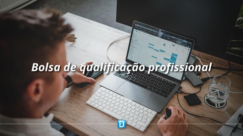 Bolsa de Qualificação Profissional já pode ser requerida online