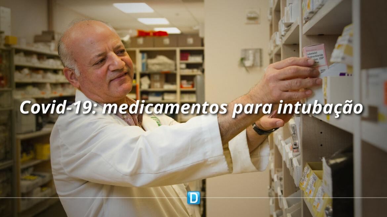 Ministério da Saúde apresenta ações para aquisição de medicamentos para intubação
