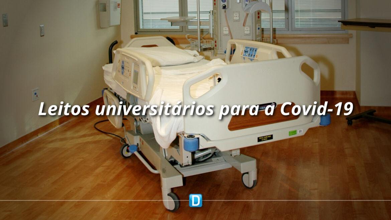 Em seis meses, hospitais universitários disponibilizaram mais de 1,8 mil leitos para atendimento