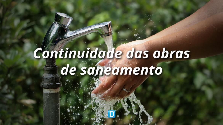 MDR vai liberar R$ 5,4 milhões para continuidade de obras de saneamento em 12 estados