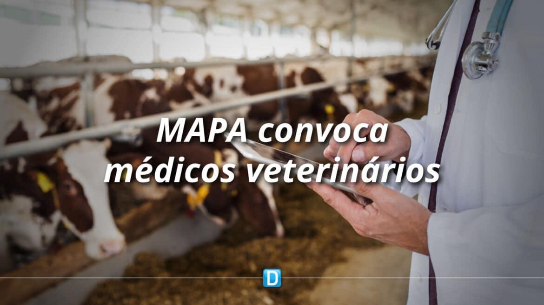 Governo Federal publica decreto para convocação de médicos veterinários para o Mapa