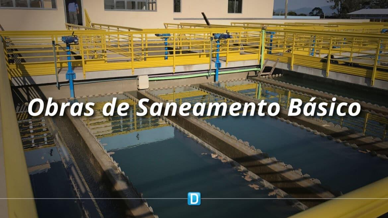MDR destina mais de R$ 17 milhões para continuidade de obras de saneamento básico
