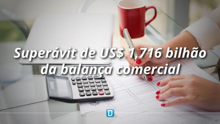 Balança comercial tem superávit de US$ 1,716 bilhão na segunda semana de outubro