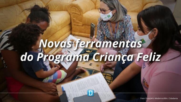 Programa Criança Feliz lança nova ferramenta de gestão