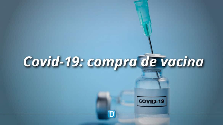 Saúde detalha a relator acordo para compra de vacina contra a Covid-19