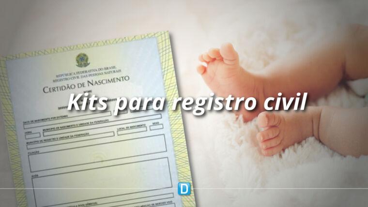 Novo prazo: Hospitais interessados em receber kits para registro civil podem enviar proposta até 13 de novembro