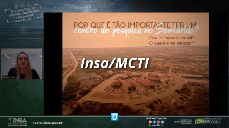 """Insa/MCTI: A """"voz"""" da ciência, tecnologia e inovação no Semiárido brasileiro"""