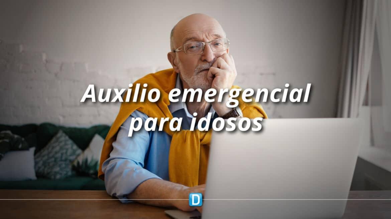 Especialistas tiram dúvidas sobre repasse de auxílio emergencial para idosos