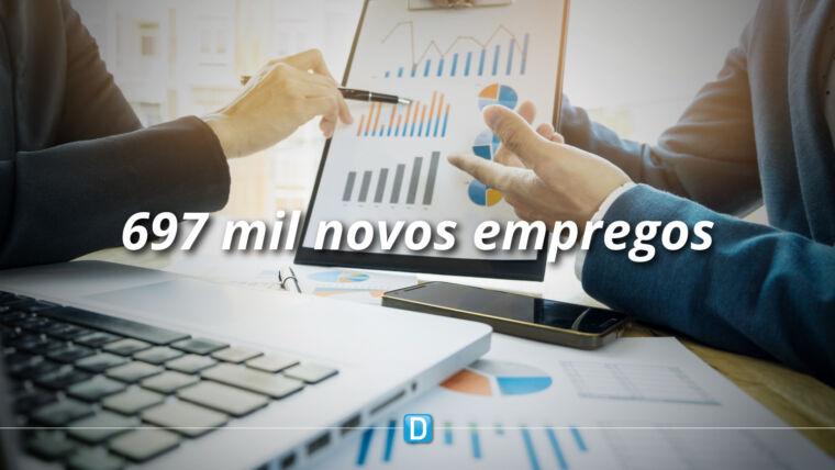 Brasil gera 697 mil empregos no 3º trimestre e consolida recuperação em V da economia