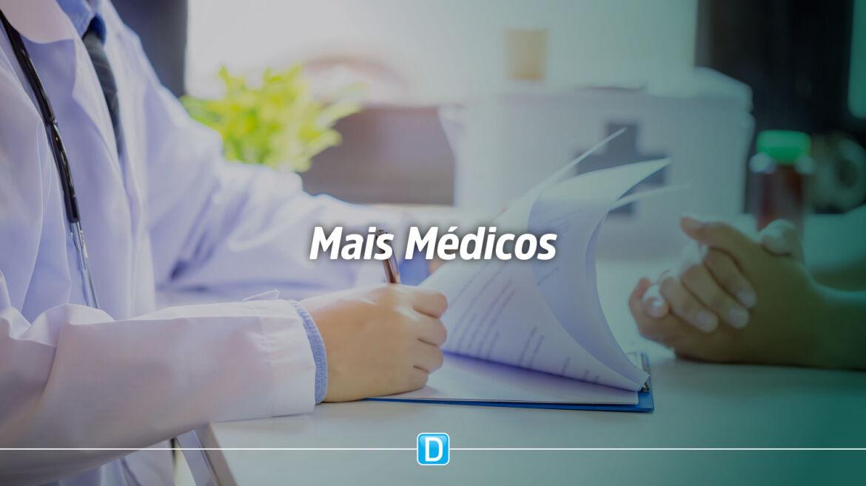 Ministério da Saúde prorroga período de atuação de médicos nos municípios