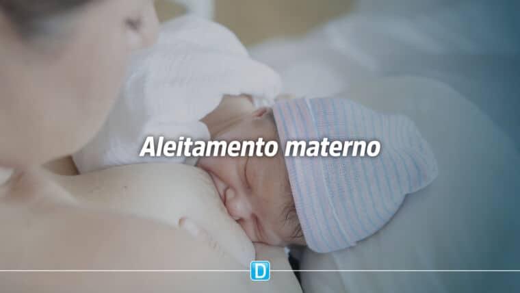 Saúde investe cerca de R$ 17 milhões para apoio ao aleitamento materno