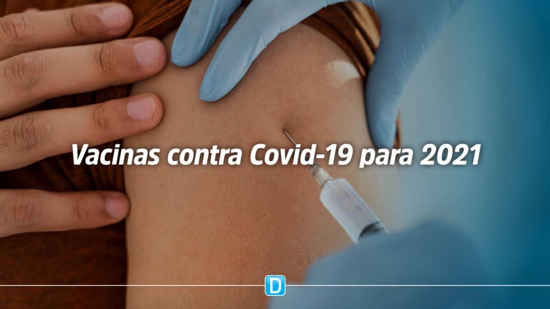Governo Federal já garantiu 300 milhões de doses de vacinas contra a Covid-19 para 2021