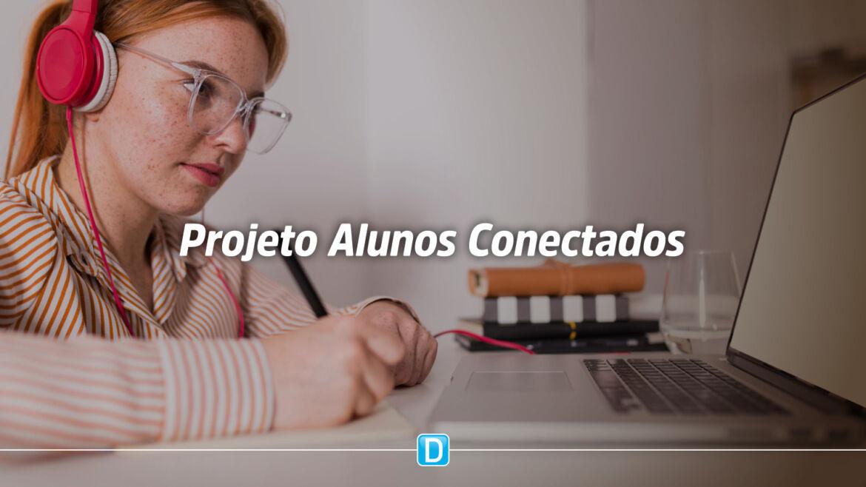 Projeto Alunos Conectados do MEC leva internet para que mais de 62 mil estudantes possam continuar estudando